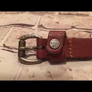 G-Star raw leather belt